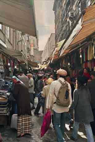 Estambul I: 6500 habitantes por km cuadrado